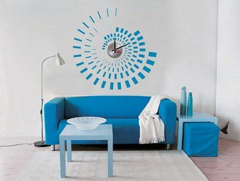 vinyl_wall_sticker_clock_10a071_flower_wall_decoration