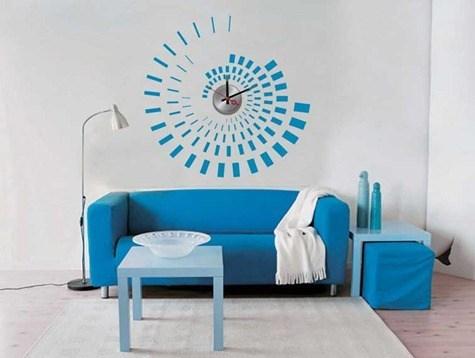 vinyl_wall_sticker_clock_10a071_flower_wall_decoration