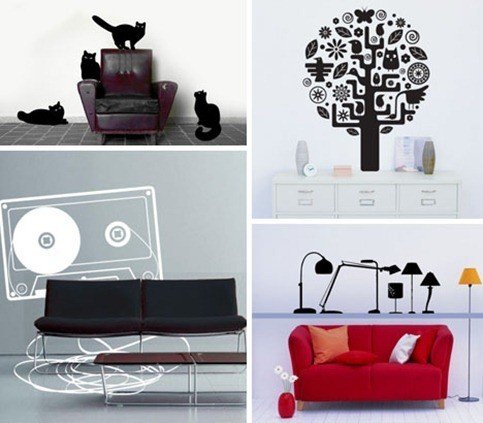 wall-stickers-creative-fun-design