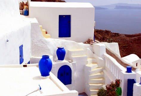 Estilo griego decoraci n for Casas en islas griegas