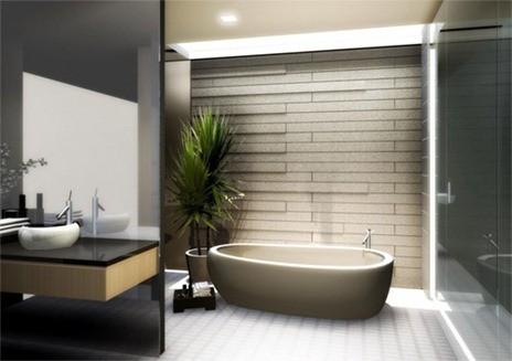 Beautiful-and-Modern-Japanese-Bathroom-Design-Ideas-with-Bathtub-Design