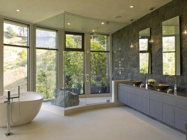 Decoracion Baño Master:Los espejos de baño pueden ayudarnos a decorar y también a crear
