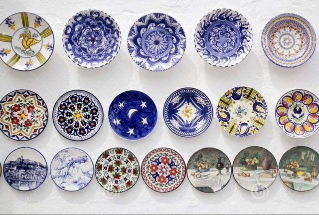 Fotos con ideas de decoraci n para una fiesta ibicenca - Platos ceramica colores ...