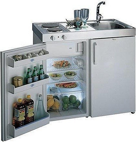 Kitchenette ideal para cocinas peque as for Mini cocinas compactas