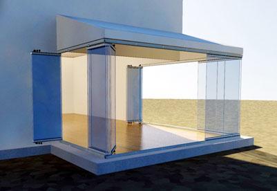 Acristalamientos de terrazas cortinas de cristal y for Acristalamiento de terrazas precios