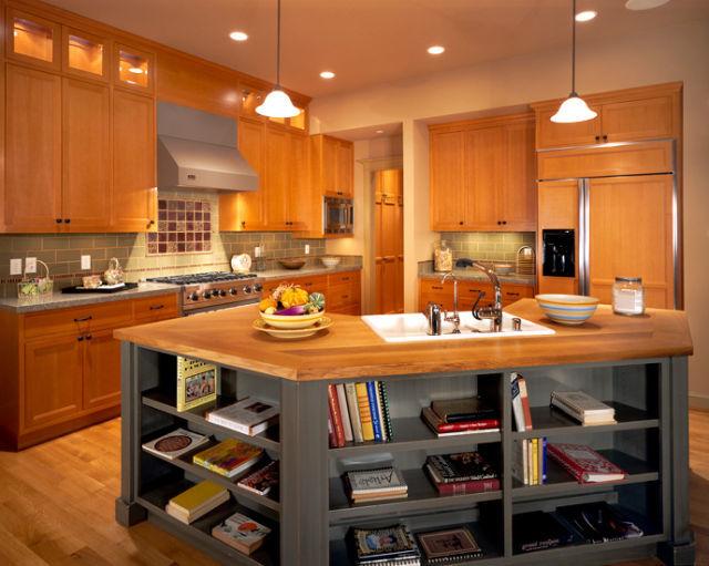 M s de 110 fotos de cocinas de madera 2019 for Catalogo de cocinas integrales de madera
