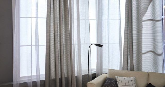 20 ideas de decoraci n de cortinas para salones 2018 - Ultimas tendencias en cortinas ...