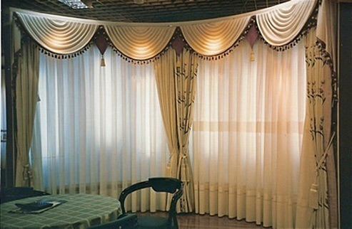 Cortinas vintage for Cortinas vintage salon