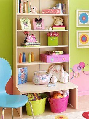 Repisas infantiles for Estanterias habitacion infantil