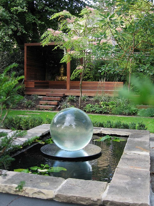 Espejo de agua for Garden feature ideas