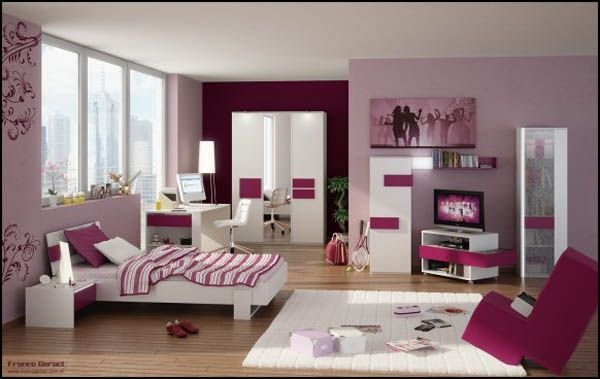 C mo decorar un dormitorio bien femenino - Decorar habitacion juvenil femenina ...