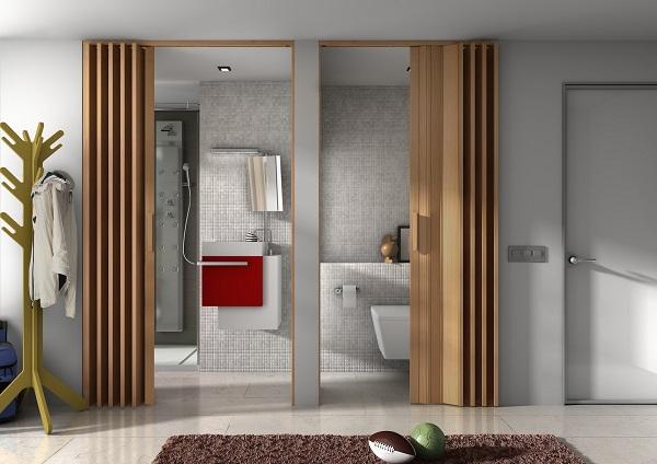 C mo dividir ambientes de forma moderna y sofisticada - Como hacer puertas correderas ...