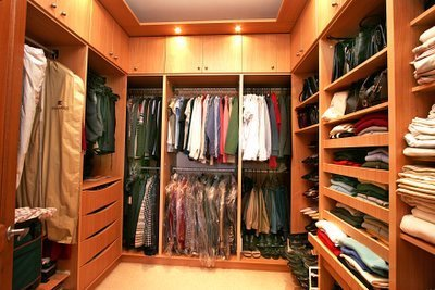 Walking closet for Walking closet modernos pequenos