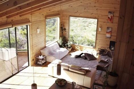wooden-living-room