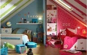 Habitacion infantil compartida