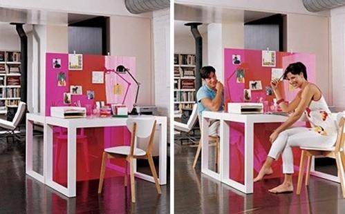 Oficina en casa for Elementos para decorar una oficina