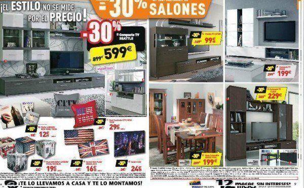 Catalogo conforama navidad 2014 for Muebles salon conforama