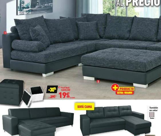 Catalogo conforama navidad 2018 for Sofa cama una plaza conforama