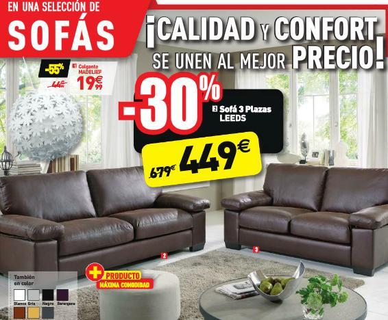 Catalogo conforama navidad 2018 for Sofas conforama catalogo