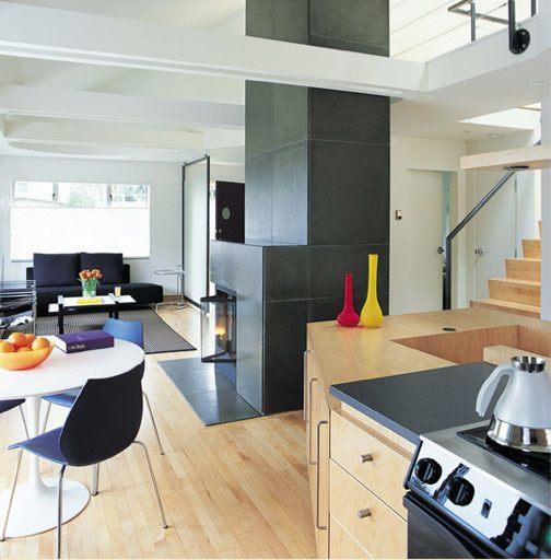 De 100 fotos de ideas para la cocina americana 2017 - Cocinas para pisos pequenos ...