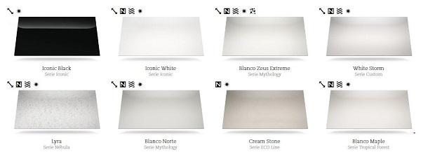 Silestone colores y precios cool curso de diseno online for Cuanto cuesta una encimera de silestone