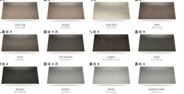 Cat logos de colores silestone para encimeras y for Precios y colores de encimeras de silestone