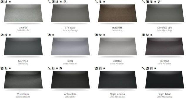 Cat logos de colores silestone para encimeras y - Encimeras de colores ...