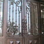 puertas de hierro forjado1