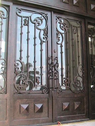 Puertas de hierro forjado1 pictures - Puertas de hierro ...