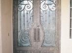 puertas de hierro forjado7