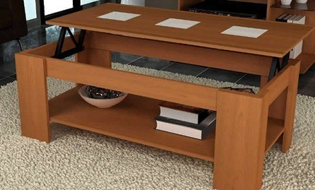 Muebles boom for Mesas de centro color cerezo