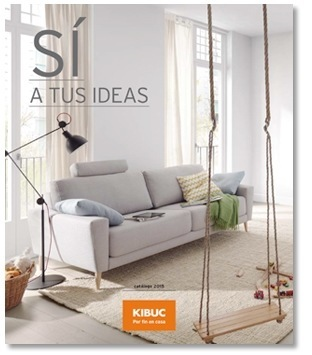 Catálogo de muebles de diseño de Kibuc 2016 - EspacioHogar.com