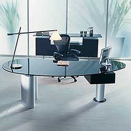 Houston Executive Office Desk by Cattelan Italia-b