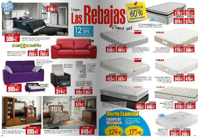 Cat logo merkamueble septiembre 2016 - Catalogo ofertas merkamueble ...