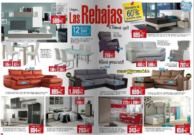 Cat logo merkamueble octubre 2017 for Catalogos de sofas y precios