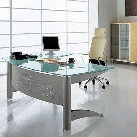 Mesas de despacho - Mesas de despacho de cristal ...