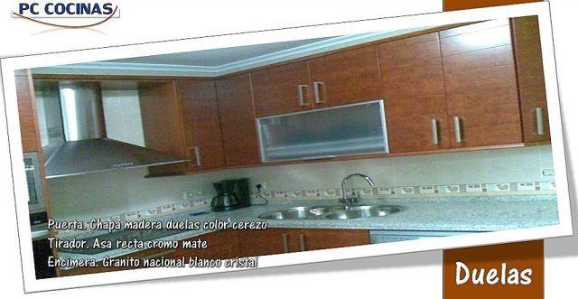 Pc cocinas decoraci n en espacio hogar for Granito nacional blanco cristal