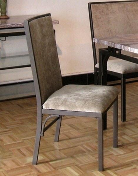 Sillas de comedor modernas best silla de cuero tapizada for Sillas modernas para comedor