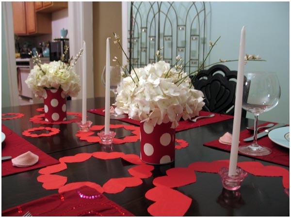 Como preparar la mesa para San Valentín 2016