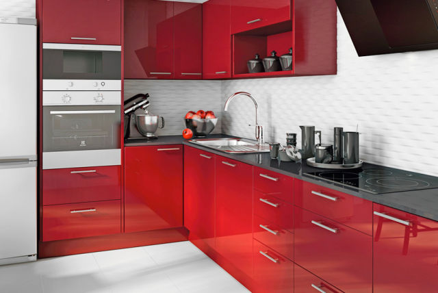 Leroy merlin cocinas 2015 lacada color rojo - Bruguer colores del mundo leroy merlin ...