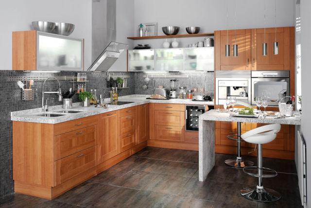 Leroy merlin cocinas 2015 madera for Catalogo de cocinas integrales de madera