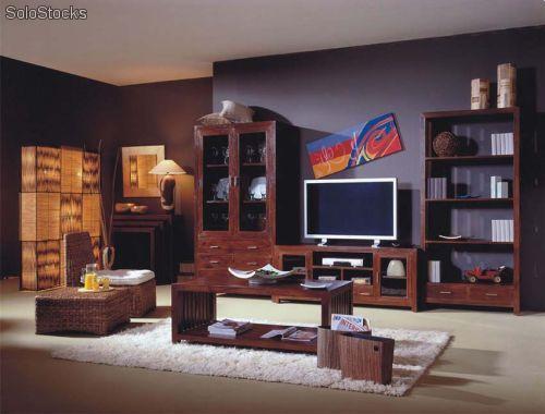 Muebles television - Mueble rustico colonial ...