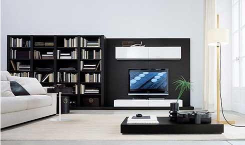 Que utilizar para la decoraci n con la televisi n decorando revista de - Muebles de tele ...
