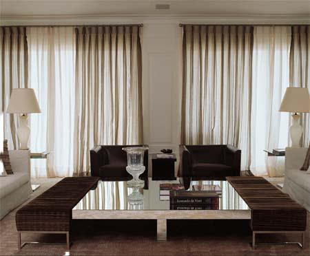 Cortinas para ventanas for Modelos de cortinas modernas