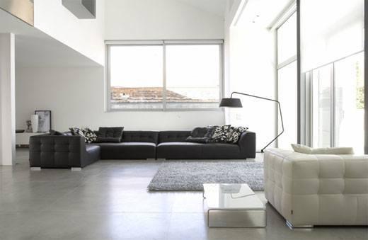 Decoraci n de salones modernos estilo minimalista 50 - Decoracion minimalista salon ...