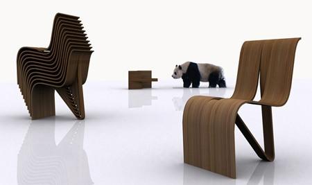 Sillas modernas for Modelos de sillas de madera modernas