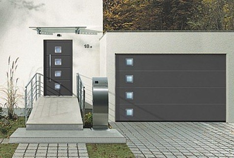Puertas metalicas - Puerta metalica exterior ...