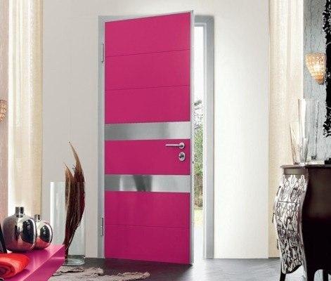 Puertas metalicas for Aislar puerta entrada