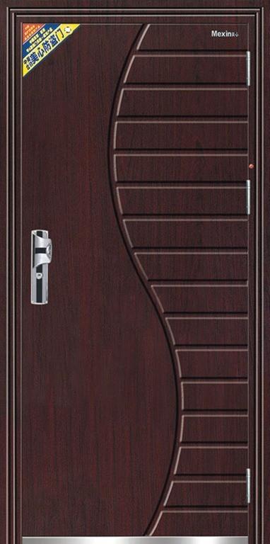 Puertas metalicas for Puertas modernas de entrada principal metalicas