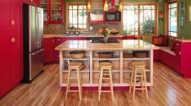 Más de 25 fotos con ideas de cocinas rojas